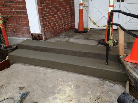 TD Bank - Hampton - new steps